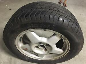 205 55 R15 95% tyre with 4 stud wheel Edgecliff Eastern Suburbs Preview
