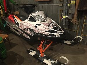 2011 Arctic Cat M8 and a new BCA float 22 avy pack and beacon