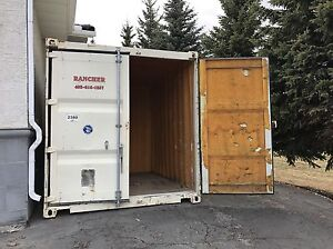 10 foot insulated sea/shipping container.