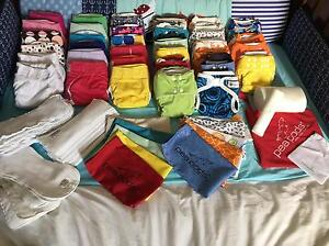 HUGE stash of modern cloth nappies MCNs Rockville Toowoomba City Preview