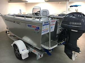 Quintrex 460 Renegade Side Console Yamaha 60hp 4 stroke Blair Athol Port Adelaide Area Preview