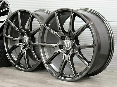Mercedes C-Klasse T-Modell S205 W205 19 Zoll Alufelgen V1 Wheels ET45 Grau ABE