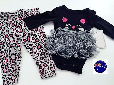 Newborn Cat Halloween Costumes (Newborn Girl Baby Cat black Cat TUTU Tulle Halloween Party Costume Romper)