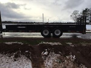 2010 Weberlane 18 foot trailer