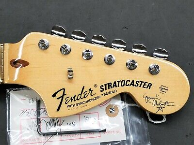 2005 Fender USA Yngwie Malmsteen Strat Maple NECK w/ TUNERS Guitar SCALLOPED