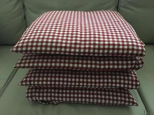 IKEA Chair Pads Cushions with fasteners Albert Park Port Phillip Preview