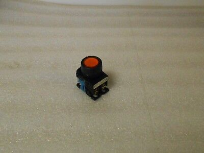 Fuji Electric Illuminated Orange, Push Button, AR22F0L E3, Used, Warranty