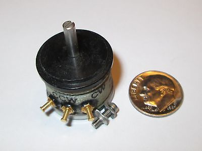 Helipot Precision Potentiometer Continuous Rotation 78 Od 1k Ohm Nos