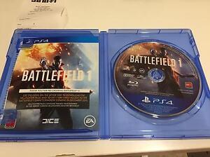 Battlefield 1 for PS4 North Sydney North Sydney Area Preview