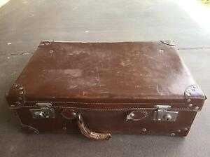 Vintage Leather Suitcase Alice Springs Alice Springs Area Preview