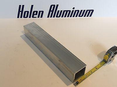 2 X 2 X 18 X 48 Long Square Aluminum Tubing 6063-t52