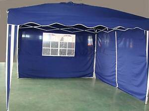 3x3m Foldable Market Party Gazebo Tent Marequee Canopy Shade*Blue Thomastown Whittlesea Area Preview