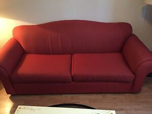 Burgundy Couch For Sale