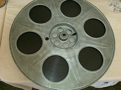 Original vintage movie reel with film 14.5 inches cinema theater