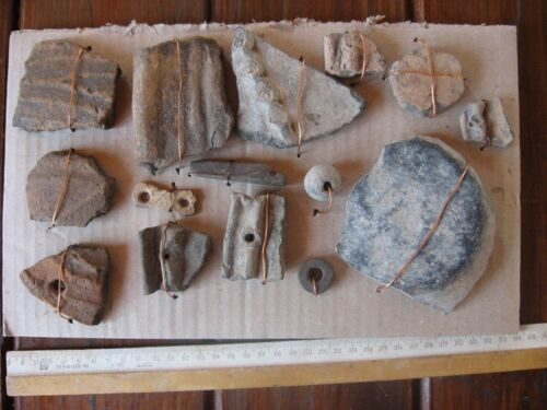 Collection of Copper age Tools:ancient Pit-culture (3600-2300 BC)