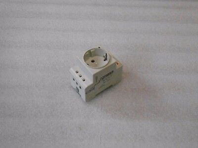 Phoenix Contact SD-D/SP/GY, Socket,  250VAC 16A, Used, Warranty