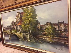Gorgeous Framed Oil Painting