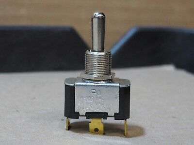 Carling Toggle Switch Spst 10a 250v 15a 125v 3 Connector 34hp 240v On Off