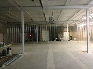 We do Steel stud framing and drywall installation ,t bar as well London Ontario image 2