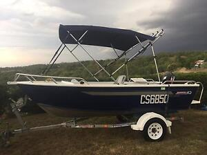 4.1m Brooker Safari Alloy Boat with 30Hp Suzuki Samford Valley Brisbane North West Preview