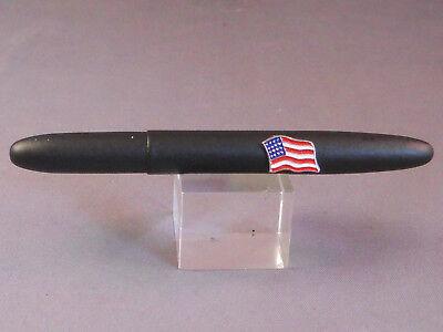 Fisher Vintage Bullet Series Ball Pen-matte black pocket pen