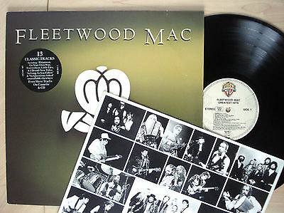 Fleetwood Mac Greatest Hits   Inner Lp Rhiannon Dreams Dont Stop Ex Nm