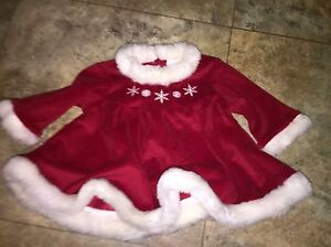 3 month, 3 piece Christmas dress outfit