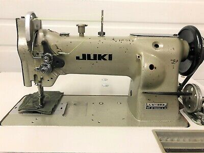 Juki Lu-563 Walking Foot Big Bob Rev New 110v Servo Industrial Sewing Machine