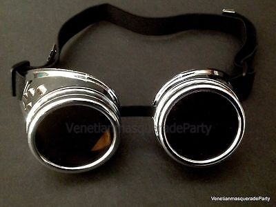 Halloween Costume Cosplay Victorian Dress up Party Goggle Eye wear Accessories