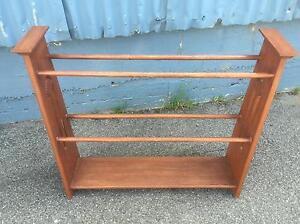 Vintage solid Blackwood timber towel rail / stand.  (Vgc) Launceston Launceston Area Preview