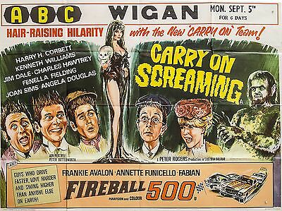 "Carry on Screaming 1966 16"" x 12"" Reproduction Movie Poster Photograph 2"