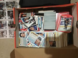 Hockey cards.
