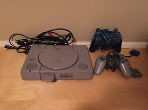 PS1 Console + Games. $160 OBO