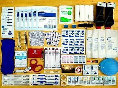 First Aid Responder EMS Emergency Medical Trauma Bag Kit Tourniquet CPR EMT IFAK ()