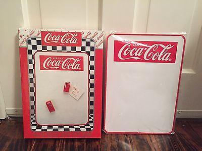 1996 Coca Cola Dry Erase Board With Vending Machine Magnets In Original Box