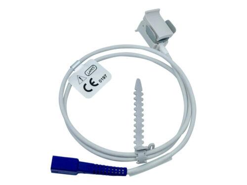Pulse Oximetry SPO2 Pediatric Finger Sensor Cable for Nellcor Oximax Monitors