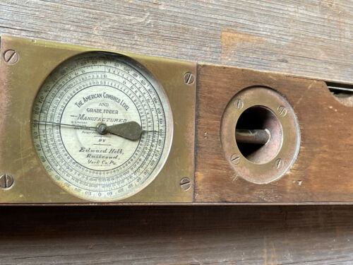 Helb Railroad American Combined Level & Grade Finder with Inclinometer Compass