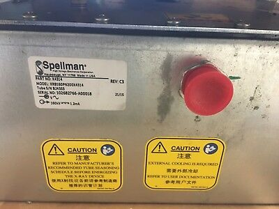 New Spellman X4314 High Voltage Generator X-ray Power Supply Xrb160pn200 407580