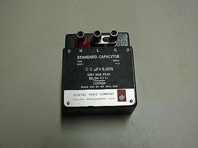 General Radio 1409-u Standard Capacitor