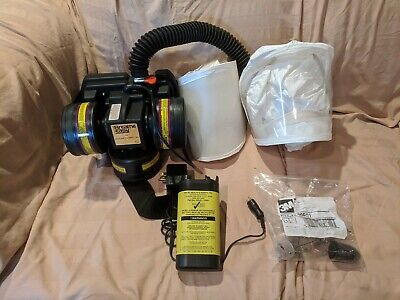 3m Racal Breathe Easy Respirator Turbo Unit Ppe With 2x Tyvek Hoods And Filters