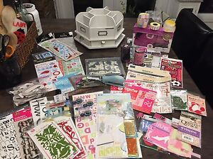 Scraobooking Lot! Almost all new! Worth over $400!!