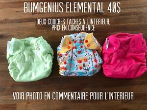 Couches lavables bumgenius elemental