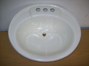 new rv cer bathroom sink oval 20 x 17