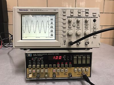 Hp Keysight 8116a 50 Mhz Pulse Function Generator Used Fully Tested Ships Free