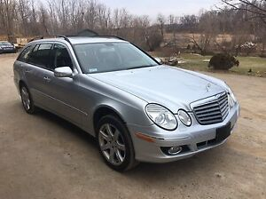 2007 mercedes e350 4 matic station wagon Loaded