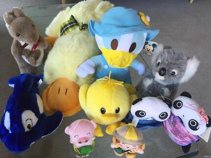 New and Pre-Loved Plush Toys $3 to $10 each