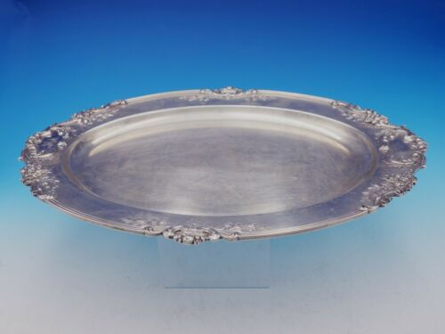 """Francis I by Reed and Barton Sterling Silver Tray Oval #570A 18 5/8"""" (#3555)"""