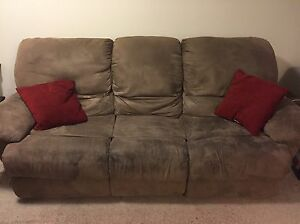 Living room set - couch, love seat, and chair