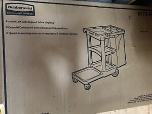 BNIB Janitor's Rubbermaid Cleaning Cart