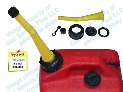 Chilton Yellow Gas Can Spout Parts Kit Sears Craftsman Aftermarket Replacement